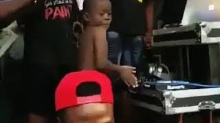 This boy's dance is evergreen