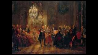 Mozart - K.299  Andantino - concerto pour flûte et harpe