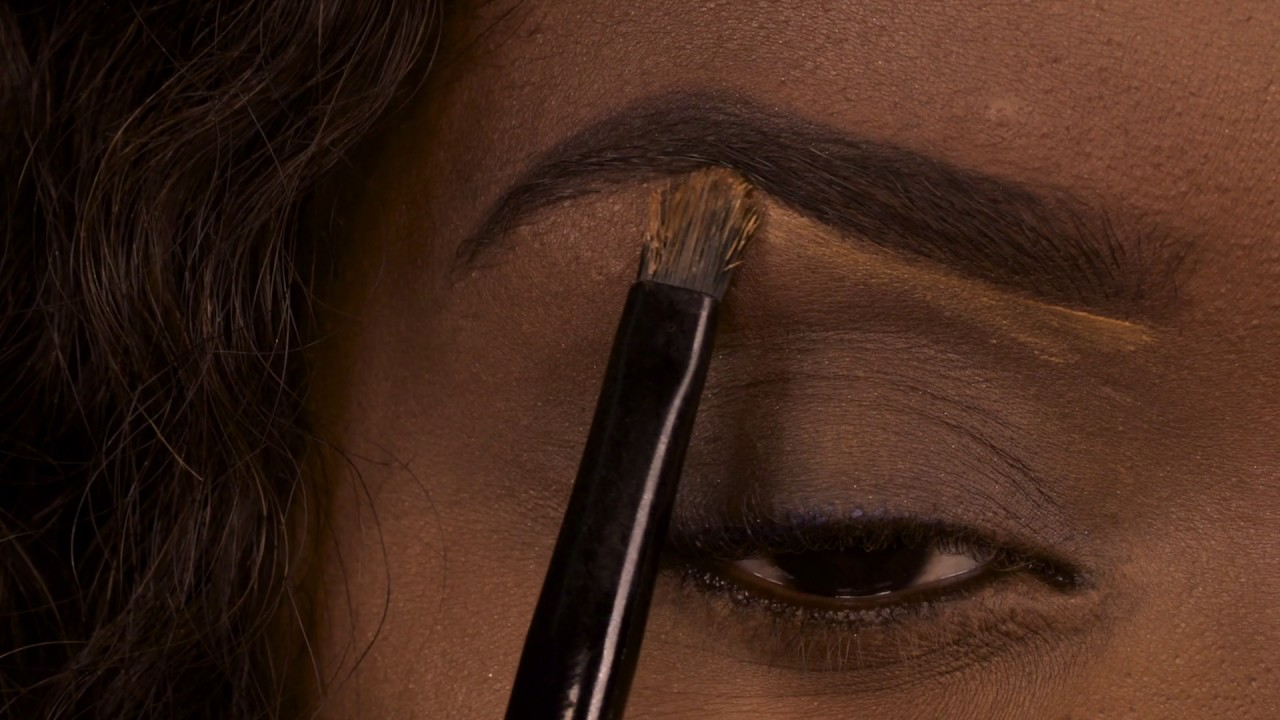 How to use our Gel Eyebrow Powder - YouTube