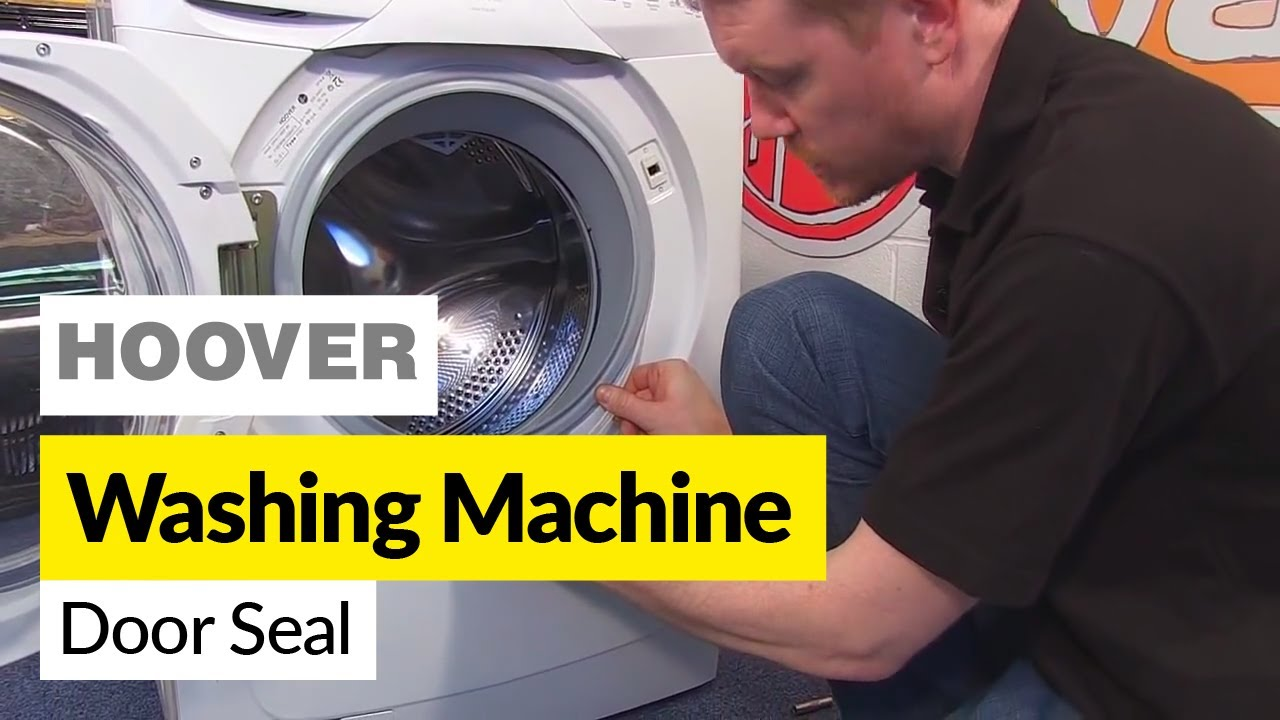 How To Replace A Hoover Washing Machine Door Seal Youtube
