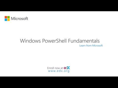 Windows PowerShell Fundamentals | Microsoft on edX