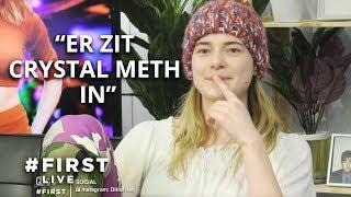 EMMA WORTELBOER over DRUGSKLUIS BNN #FIRST LIVE