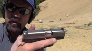 Kahr PM9. The super accurate compact 9mm pistol.