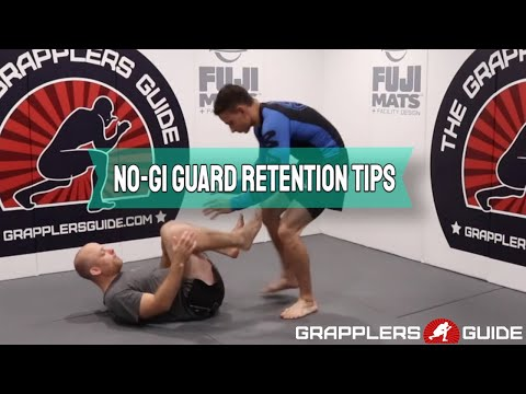 Some No-Gi Beginner Guard Retention Tips by Jason Scully