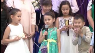 Тост Айнуры на свадьбе в Павлодаре