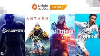 Origin Access Premier: Official Reveal Trailer, EA PLAY 2018