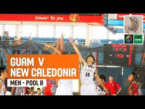 Guam v New Caledonia (Men) - Full Game - 2014 FIBA Oceania U19 Championship