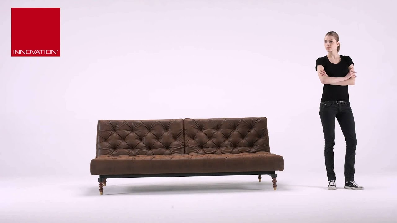 oldschool chesterfield sofa by innovation living usa  youtube -