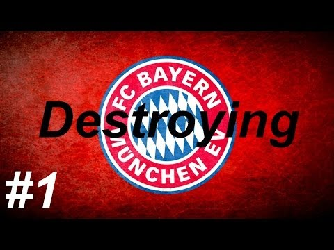 Fifa 14 - Destroying Bayern Munich - Episode 1