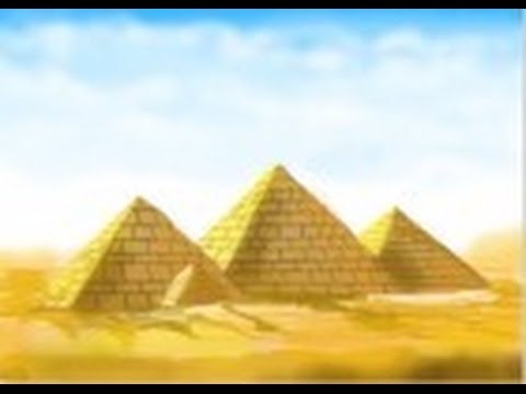 how to draw ancient egyptian pyramids youtube
