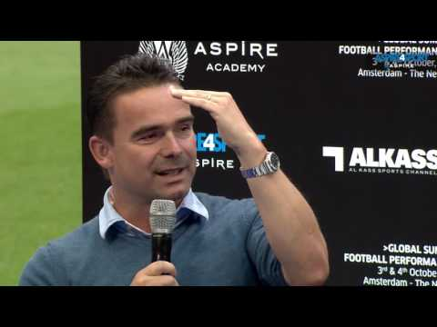Stars Chat: Ronald de Boer & Marc Overmars - Aspire4sport/Global Summit, Amsterdam 2016