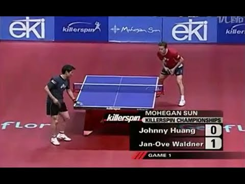 Jan-Ove Waldner vs Johnny Huang