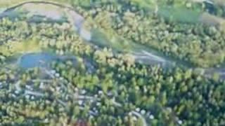 paragliding flight to camping Menina - Slovenia