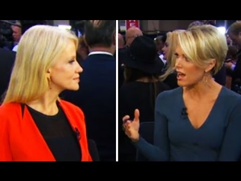 Megyn Kelly Laughs At Kellyanne Conway: 'Romney's Numbers Are Crushing Trump's Numbers With Women'