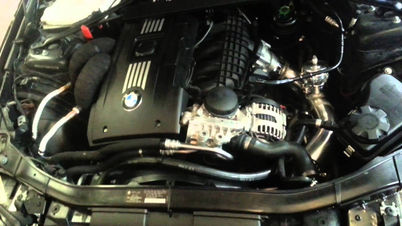 Proven Power BMW single turbo N54 335i   YouTube