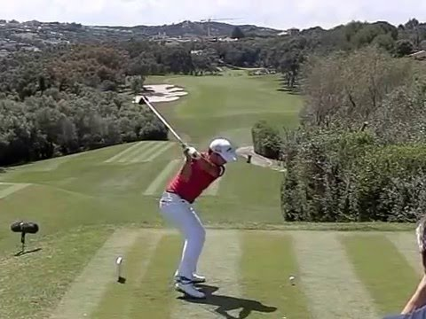 Pablo Larrazabal Golf Swing, Slow Motion, Valderrama, Spanish Open 2016