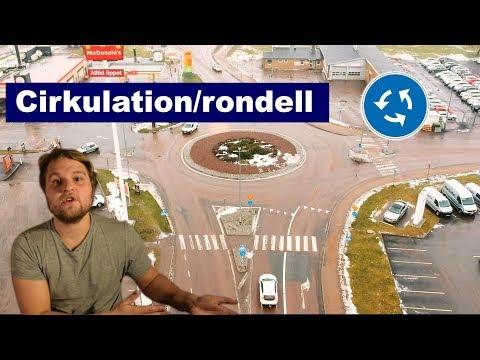 Hur Kör Man I Cirkulation / Rondell?