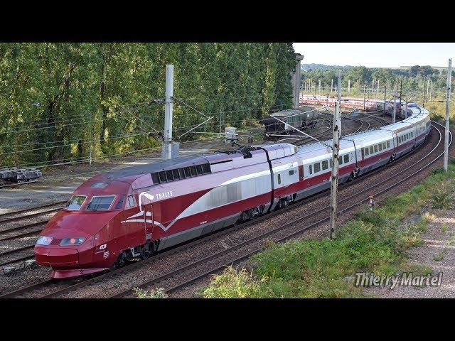 Thalys TGV PBA (réseau) - rames n° 4554 et 4535