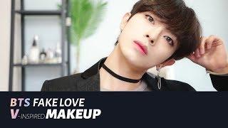 (Eng+) 뷔(방탄소년단) 메이크업 FAKE LOVE 'BTS V'-inspired MAKEUP  | Joseph 죠셉