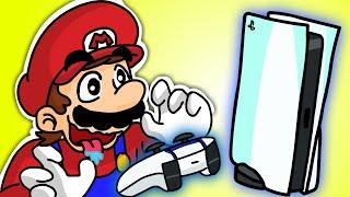 SUPER MARIO Buying PS5 | Playstation 5 Animation #Shorts
