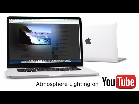 Atmosphere Lighting for YouTube™ Turn Off the Lights Browser Extension