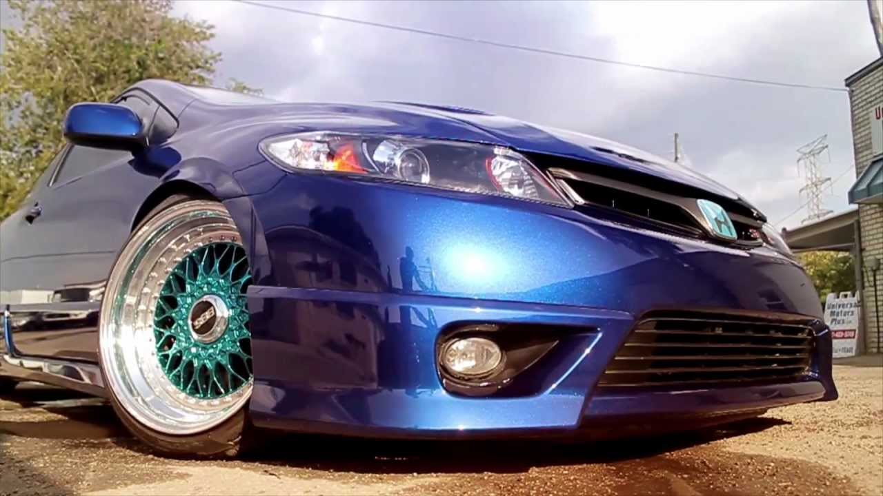 Civic Si Blue Paint Code
