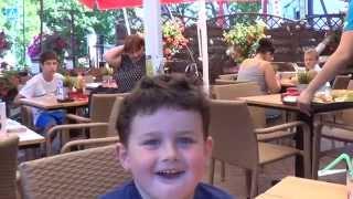 wnuczek i co rcia porwali mnie na pyszny obiad do zagrody rybackiej w gdańsku brzeźnie