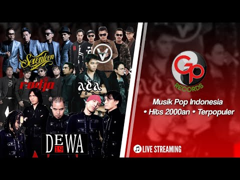 🔴 (LIVE) Musik Pop Indonesia • Hits 2000an • Terpopuler #LiveMusicStream #WFH