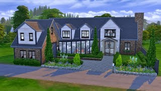 8+ Sim House CC | Speed Build | The Sims 4