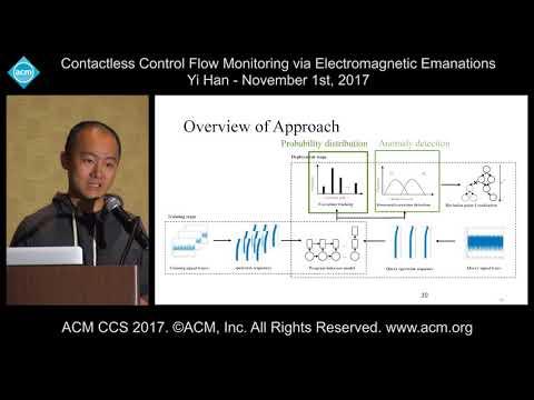 ACM CCS 2017 - Contactless Control Flow Monitoring [...] - Yi Han