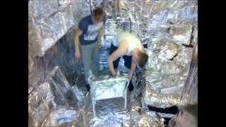 Ultimate Tin Foil Room Prank - Southampton Solent
