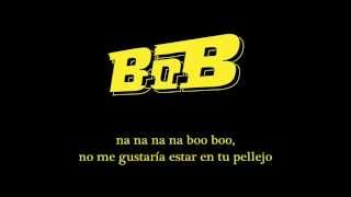 B.o.B - Out of My Mind ft. Nicki Minaj (Subtítulos en español)