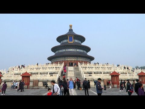 The Temple of Heaven and Tiantan Park in Beijing (China)