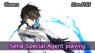 figcaption Closers - Seha Special Agent first playing : Live streaming #165