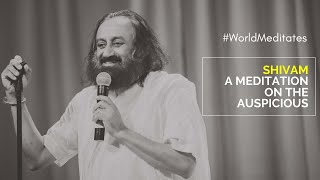 1 April 12:00  pm IST: World Meditates with Gurudev Sri Sri Ravi Shankar | Guided Meditation