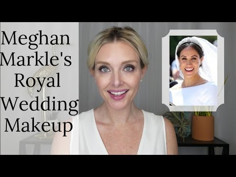 Meghan Markle's Royal Wedding Makeup