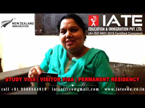 NEW ZEALAND Visitor Visa -  Mrs. Sandhu ( Goraya ) Punjab