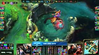 CLG vs Origen Highlights Grand Final IEM San Jose 2015 Game 3 | Intel Extreme Masters