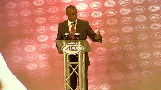 Florida State head football coach Willie Taggart at ACC Kickoff