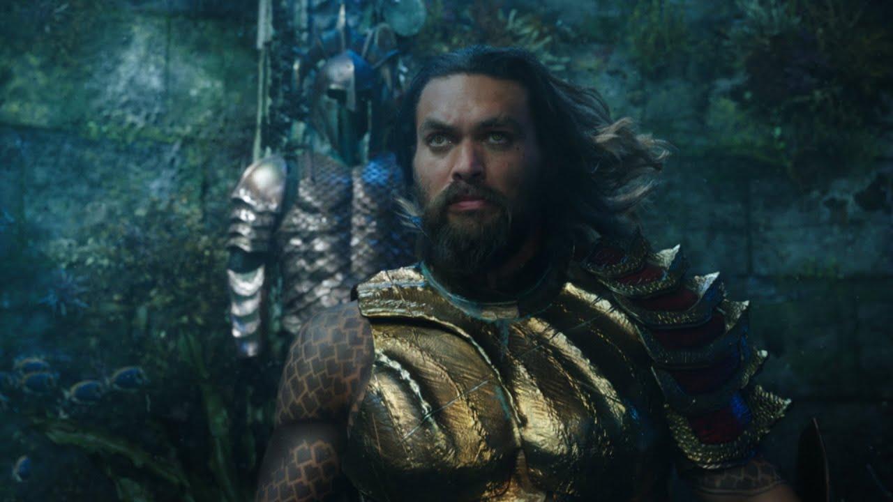Aquaman Trailer 1 Oficial Warner Bros Pictures Youtube