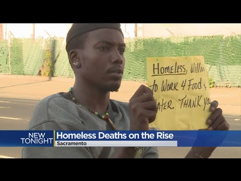Homeless Deaths On The Rise in Sacramento
