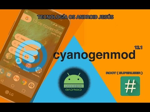 Root en CyanogenMod 12.1 (S Advance)