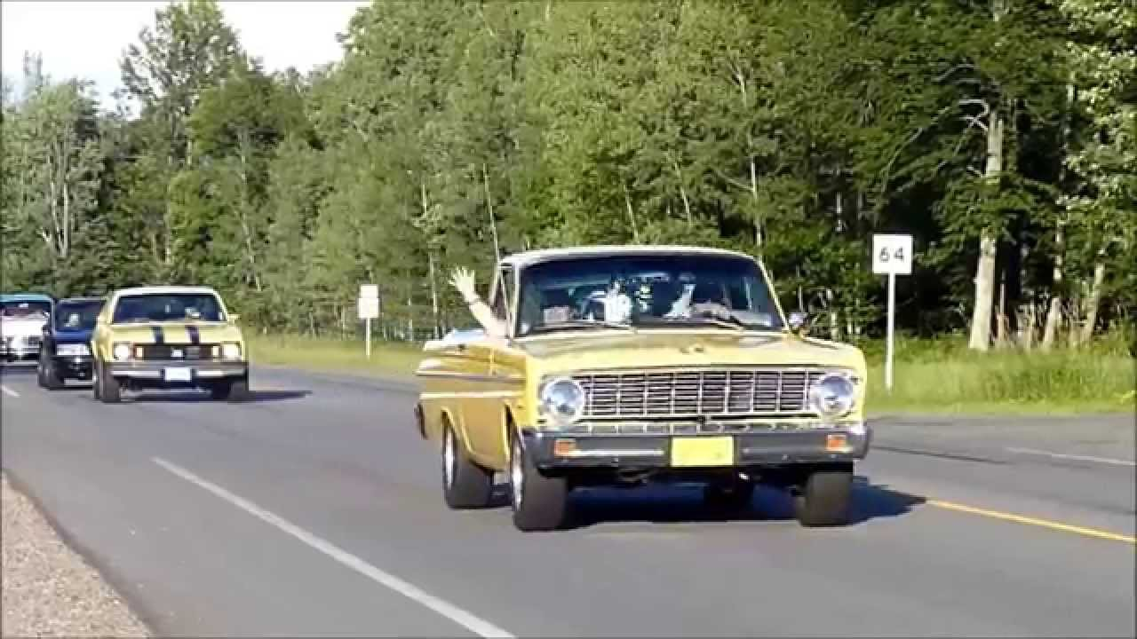 Northern Cruisers Car Show Burnouts July 26,2014 Grand Rapids MN ...