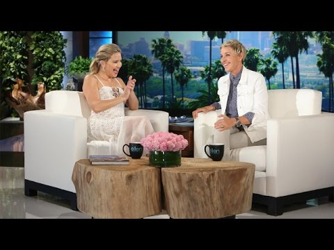 Kate Hudson Talks On-Set Nostalgia with Her Dad, Kurt Russell