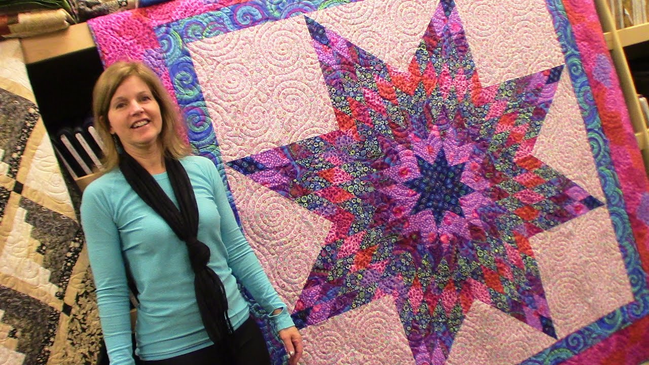 Let S Make Lone Star Quilt Tutorial Youtube