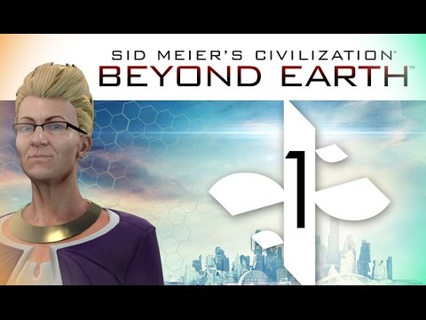Civilization: Beyond Earth - Rising Tide Gameplay #1 (INTEGR, Supremacy/Harmony) APOLLO DIFFICULTY!