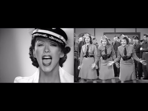 Christina Aguilera + Andrews Sisters : Boogie Woogie Candyman