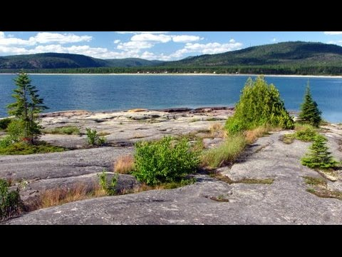 Lake Superior Neys Geology Trail, Marathon Canada