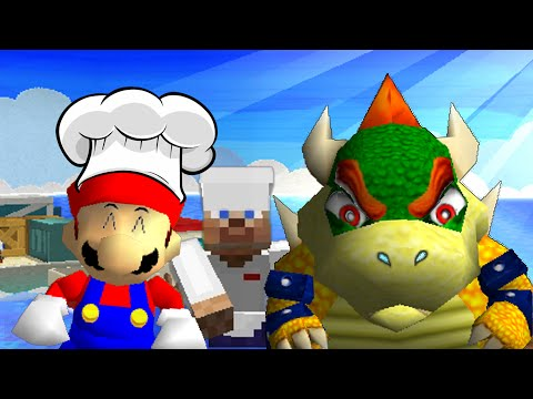 Thumbnail: SM64: Cooking with mario and bowser 3!