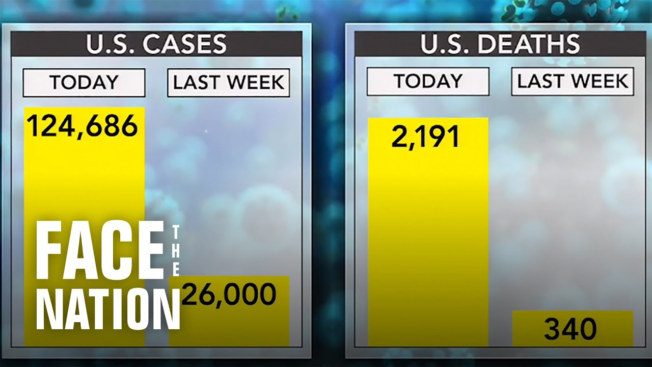 Americans concerned as U.S. reaches highest number of coronavirus cases of any country - Face the Nation thumbnail